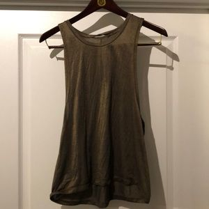 Lululemon gold tank